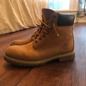 "Timberland Men's Classic 6"" Boots in Wheat"